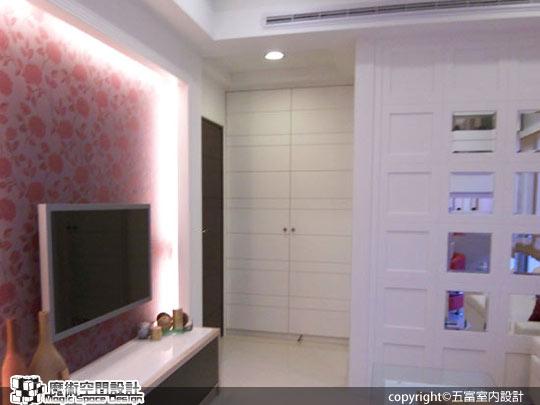 [魔術空間設計]室內設計作品-五富室內設計-郭明福- 都會品味捷運樓中樓 ,創造豐富機能空間效益