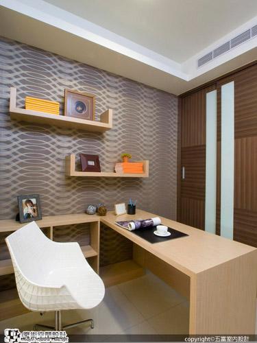 [魔術空間設計]室內設計作品-五富室內設計-郭明福- 低調奢華風  藉用鏡影、光感提升內斂品味的器度華宅