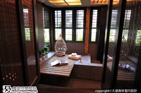 [魔術空間設計]室內設計作品-大湖森林室內設計公司-柯竹書&楊愛蓮-鐵皮老屋 變身樂活五感的自然住宅、辦公天堂