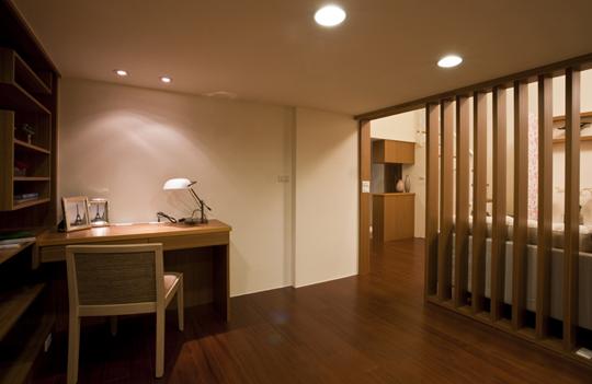 [魔術空間設計]室內設計作品-三分之三空間設計-哇塞!! 十三坪挑高套房日式禪風設計出三房三廳