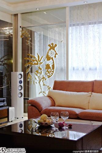 [魔術空間設計]室內設計作品-語承室內設計- 低調奢華設計結合客製化圖騰彩繪讓家更有甜蜜舒適感