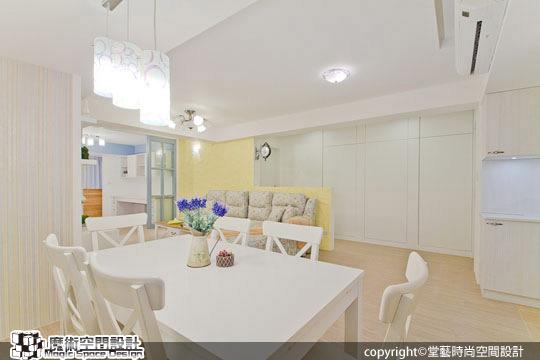 [魔術空間設計]室內設計作品-堂藝時尚空間設計-謝俊安-老公寓改造英式鄉村風格,設計孩子美好生活空間