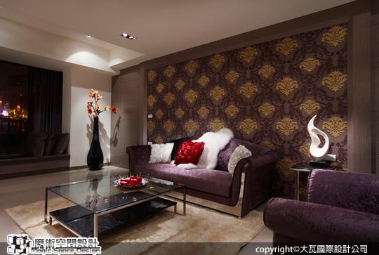 [魔術空間設計]室內設計作品-大瓦國際設計公司-李孝強-奢華巴洛克風格 裝潢設計空間動線讓家更溫馨