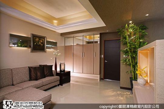 [魔術空間設計]室內設計作品-鄭閎澤精緻室內設計公司-鄭閎澤-精緻奢華打造新婚夫妻15坪甜蜜小豪宅
