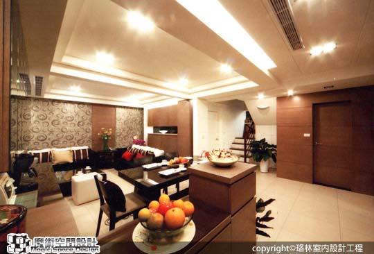 [魔術空間設計]室內設計作品-珞林室內設計工程-黃進部-三代同堂樓中樓 時尚輕奢華超自在