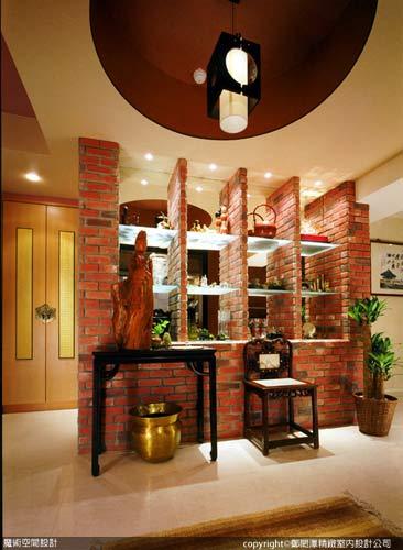 [魔術空間設計]室內設計作品-鄭閎澤精緻室內設計公司-鄭閎澤-突顯中式禪風的東方風情,將裝潢設計昇華藝術品味