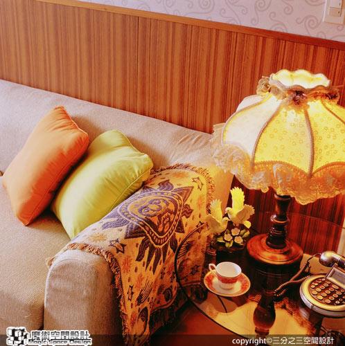 [魔術空間設計]室內設計作品-三分之三空間設計公司-黃郁隆-歐風舊傢飾改頭換面  老屋翻新省錢有一套