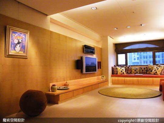 [魔術空間設計]室內設計作品-原創空間設計-舊公寓翻新搖身現代時尚居 巧處留白就是美