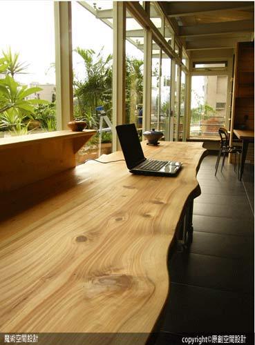 [魔術空間設計]室內設計作品-原創空間設計-原木空間+現代簡約風格 辦公室設計可以很森林