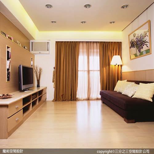 [魔術空間設計]室內設計作品-三分之三空間設計公司-黃郁隆 -小資女省錢大作戰 舊屋裝潢打造小豪宅