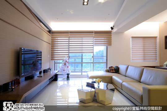 [魔術空間設計]室內設計作品-堂藝時尚空間設計-謝俊安-首購族聰明裝潢術 現代簡約第一宅