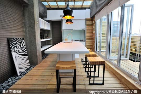 [魔術空間設計]室內設計作品-大湖森林室內設計公司-柯竹書&楊愛蓮-小坪數打造峇里島渡假風格 享受飯店式解壓氛圍
