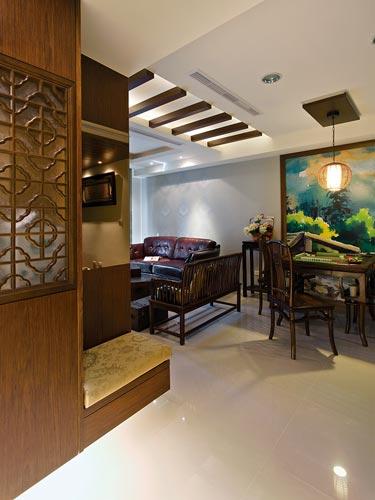 [魔術空間設計]室內設計作品-雅士室內設計工程-洪儷芹 -夜上海紓壓中國風古典設計風格