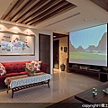 [魔術空間設計]室內設計作品-雅士室內設計工程-洪儷芹 -窗花。圖騰。格柵  新中國風設計超氣質