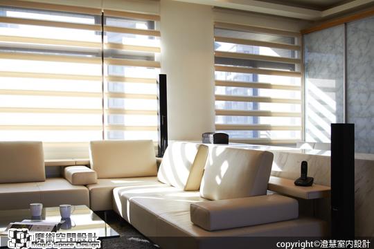 魔術空間設計-[室內設計作品] 光感好宅。鬆綁格局 還原了輕盈白淨的空氣感