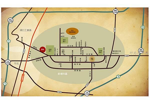 新埔鎮地圖-01
