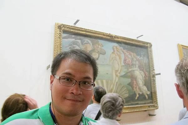 烏菲茲美術館-維納斯的誕生