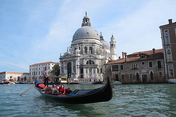 威尼斯美麗的運河景觀
