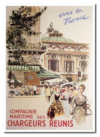 法國觀光海報