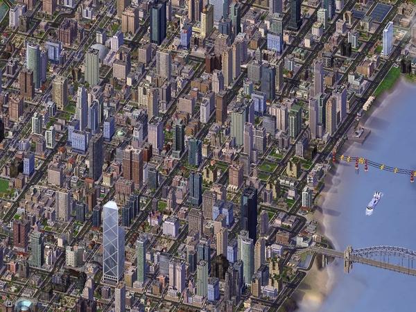 市中心高樓群