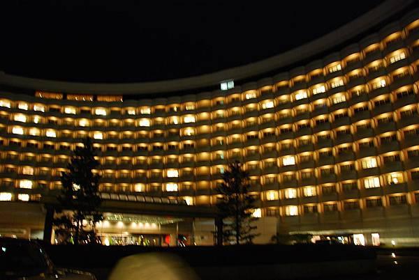 位於迪士尼渡假園區內的東京喜來登飯店