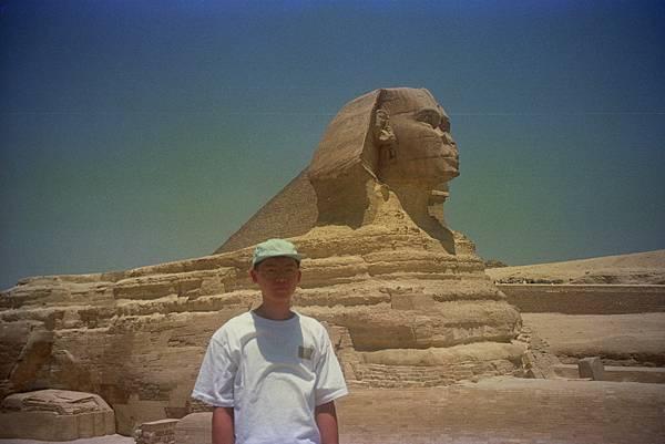 吉薩金字塔群 人面獅身像 img0003