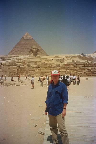 吉薩金字塔群 人面獅身像 img0006