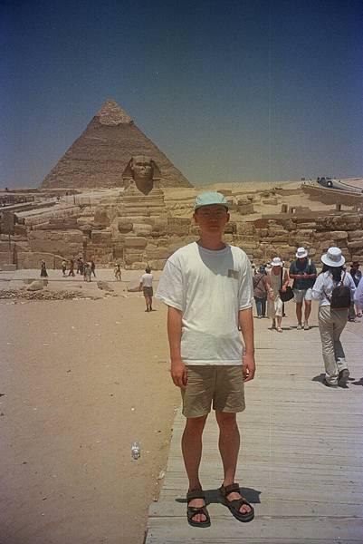 吉薩金字塔群 人面獅身像 img0007