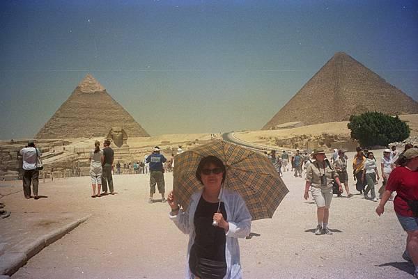 吉薩金字塔群 人面獅身像 img0008