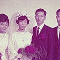 大B哥 潘偉遜、廖麗瓊結婚照