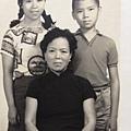 母親 鄭鳳文,姐姐胡家嫄,ㄚ仔胡家建