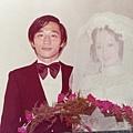 胡家元、林雲卿結婚照
