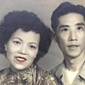 父母親早年合照