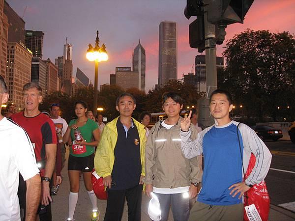 芝加哥馬拉松 2008.10.12