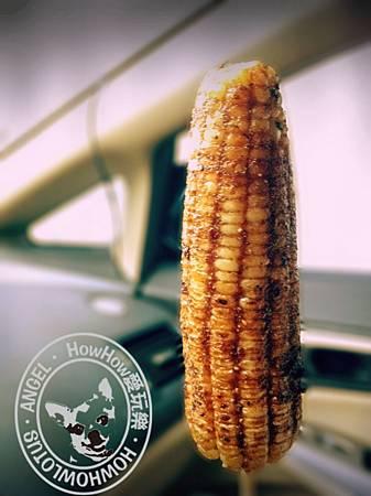賣相和香味都是100分的烤玉米