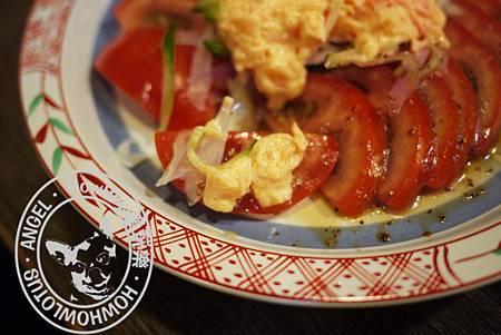 龍蝦番茄沙拉