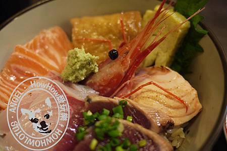 綜合生魚海鮮丼