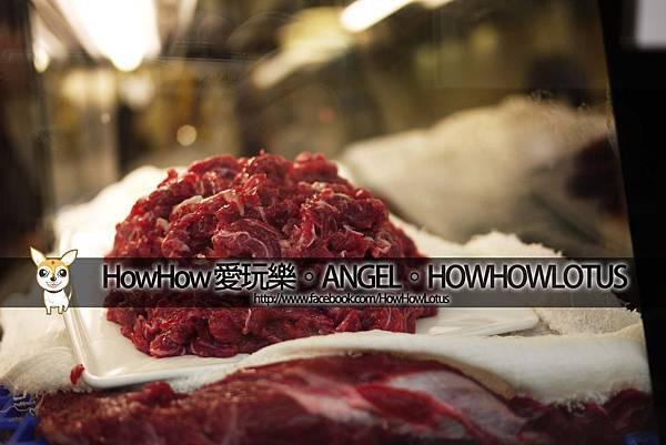 冷藏櫃裡的牛肉