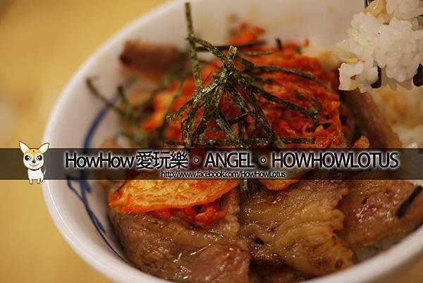 泡菜燒肉丼