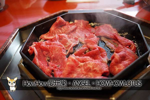 牛肉上鍋!