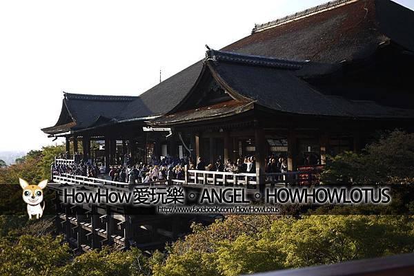 清水寺本體、清水舞台
