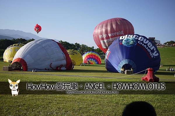 地上那些熱氣球其實是綠豬吧!?XD