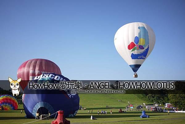臺東的熱氣球喔!