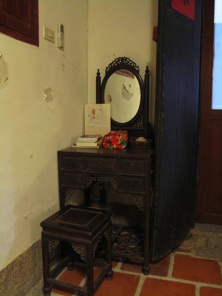 復古的梳妝台