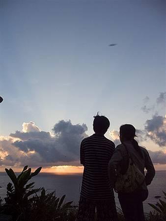 綠島的日出