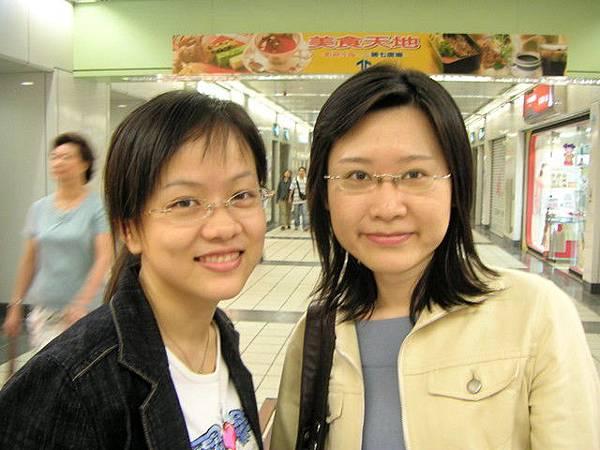 200505某日-我和芳如@東區地下街