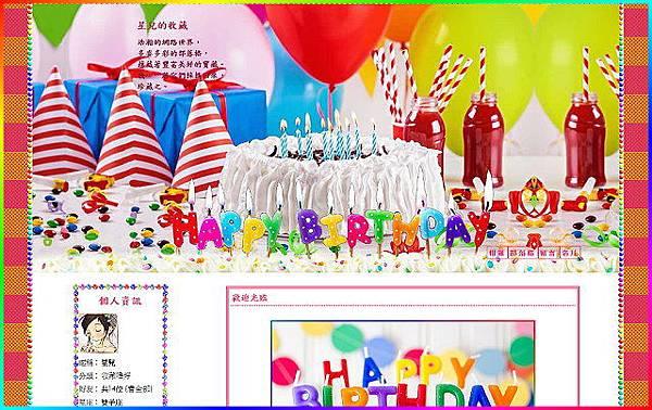 生日的祝願左二欄