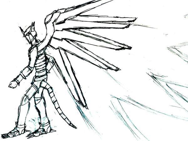 閃光暴龍獸/光之翼