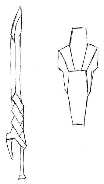 武器:單手劍及盾