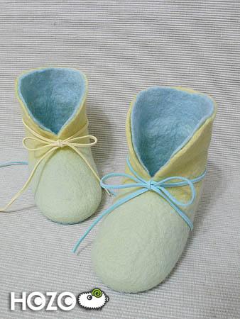 高筒(藍/黃鞋帶示意)